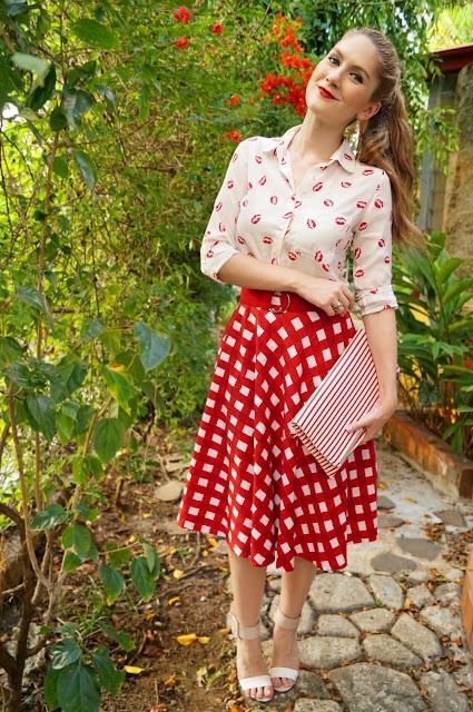 Outfit bonita para a Primavera
