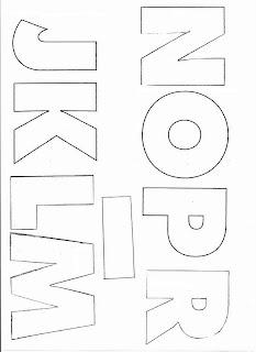 molde de letras para chaveiro feito em eva