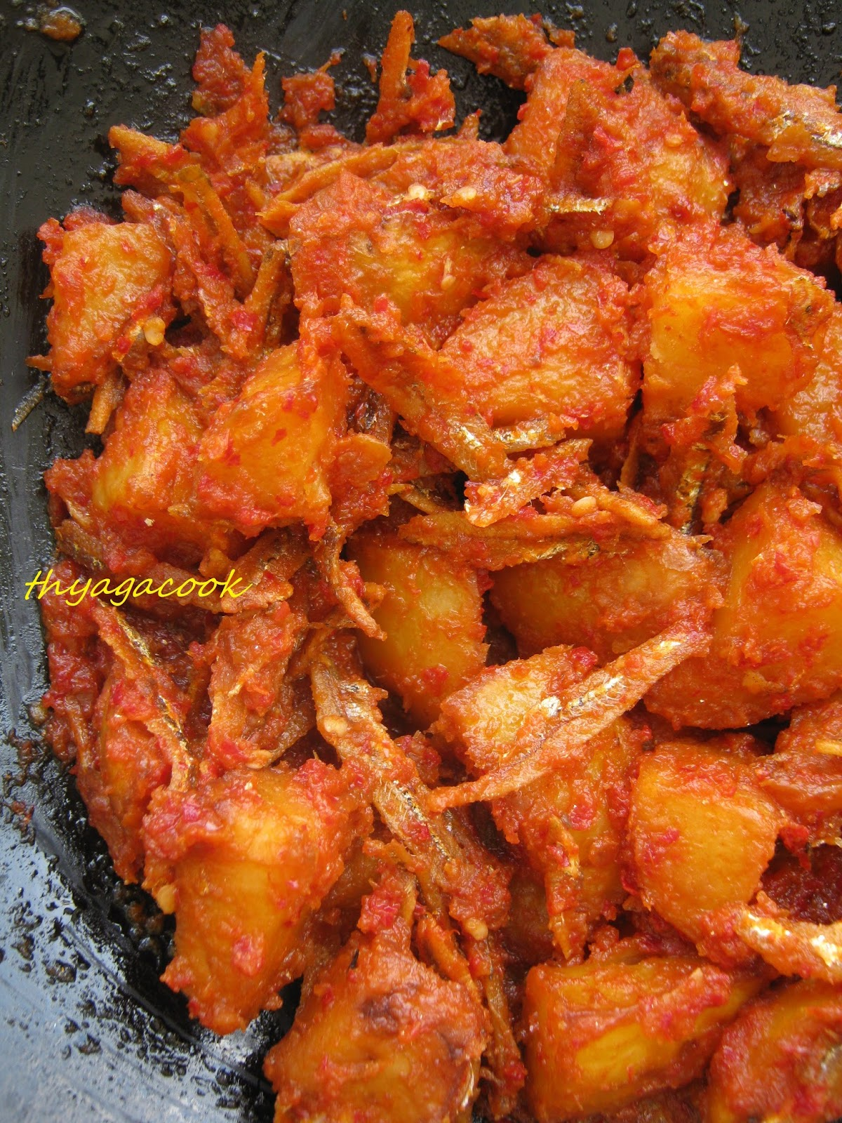 Kari leafs malaysian flavours anchovies and potatoes sambal wednesday july 22 2015 forumfinder Images