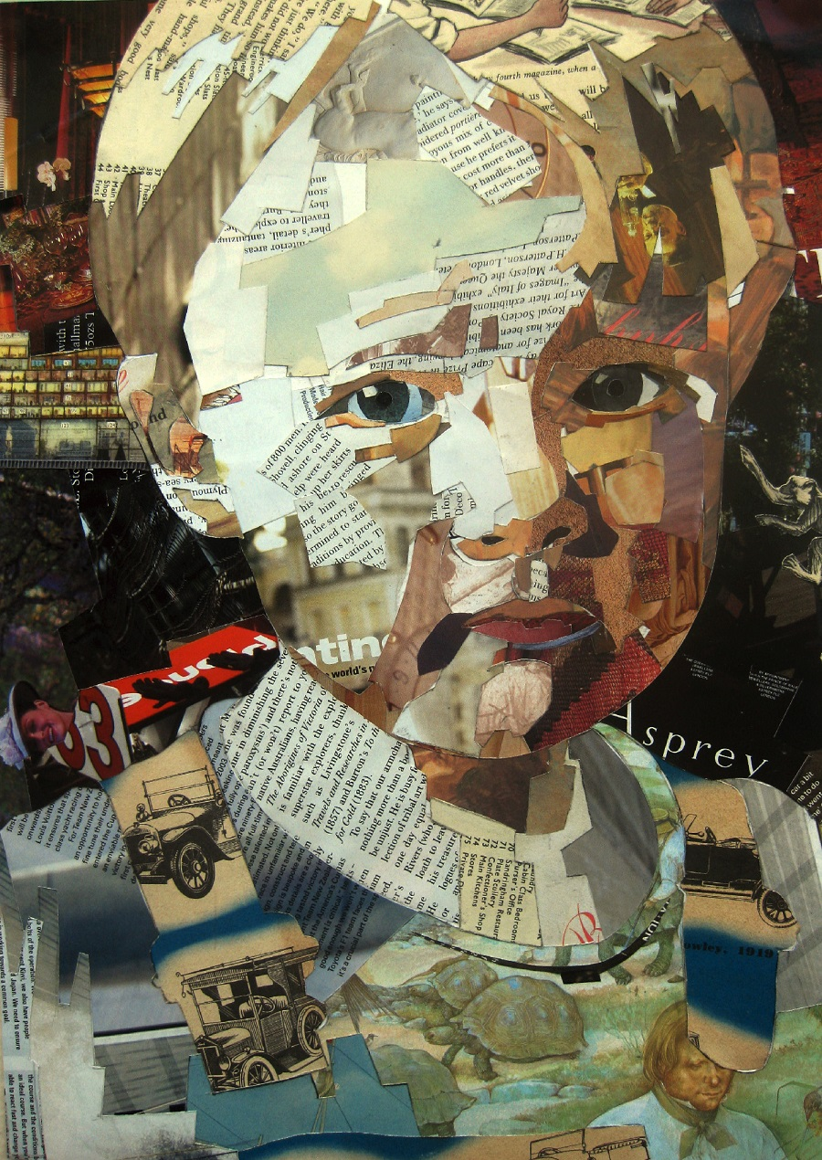 Simply Creative: Collage Art by Patrick Bremer