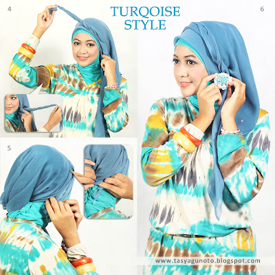 Tutorial Turqoise Style