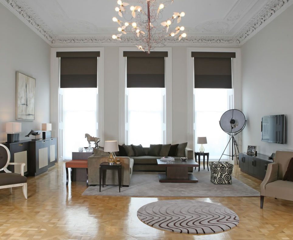 A Bright Space Taupe Living by Kelly