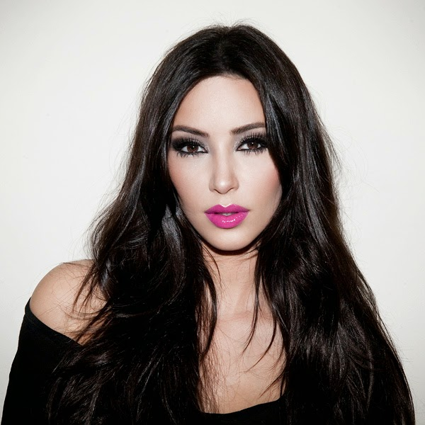 Kim Kardashian Makeup and Hair