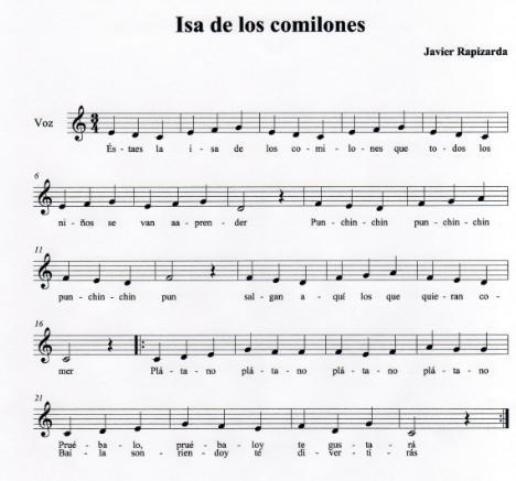 letras de canciones canarias: