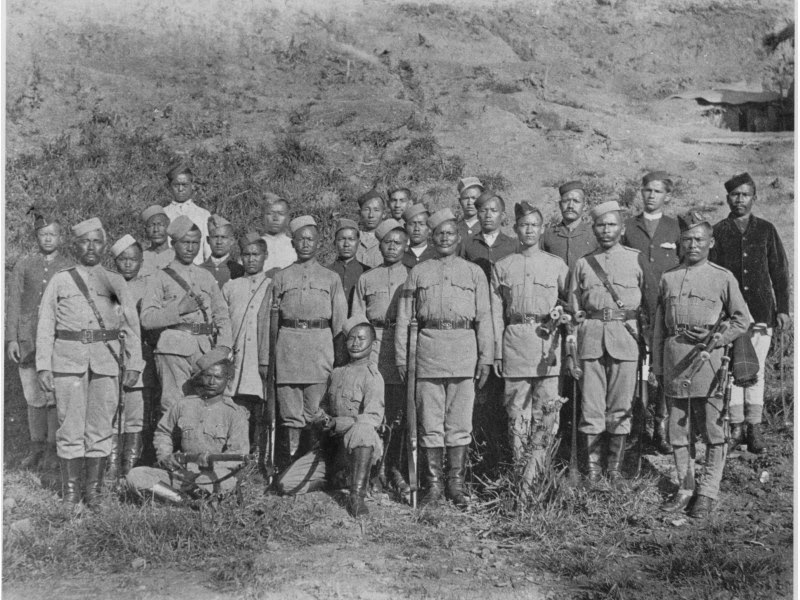 4th gurkha rifles at fort white 31