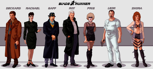Blade Runner Lineup por Deimos-Remus