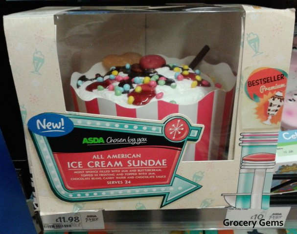 Character Birthday Cakes Asda ~ Grocery gems new celebration cakes at asda including a rainbow
