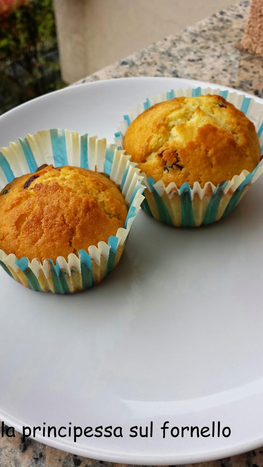 muffins ai frutti rossi