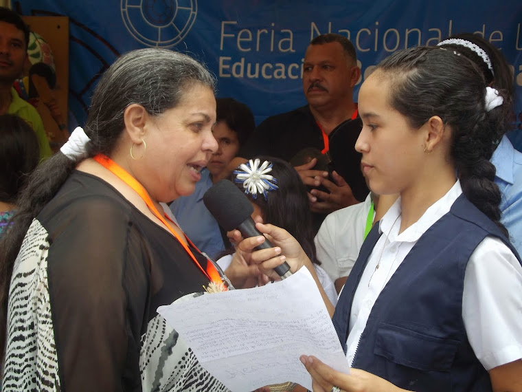 ENTREVISTA A LA PROFESORA GISELA TORO  POR PARTE DE NUESTRA LOCUTORA KEILYS SEQUERA