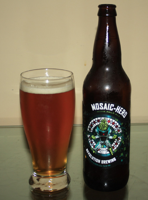 Name: Revolution Mosaic Hero Style: India Pale Ale ABV: 7.5% IBUs: 75