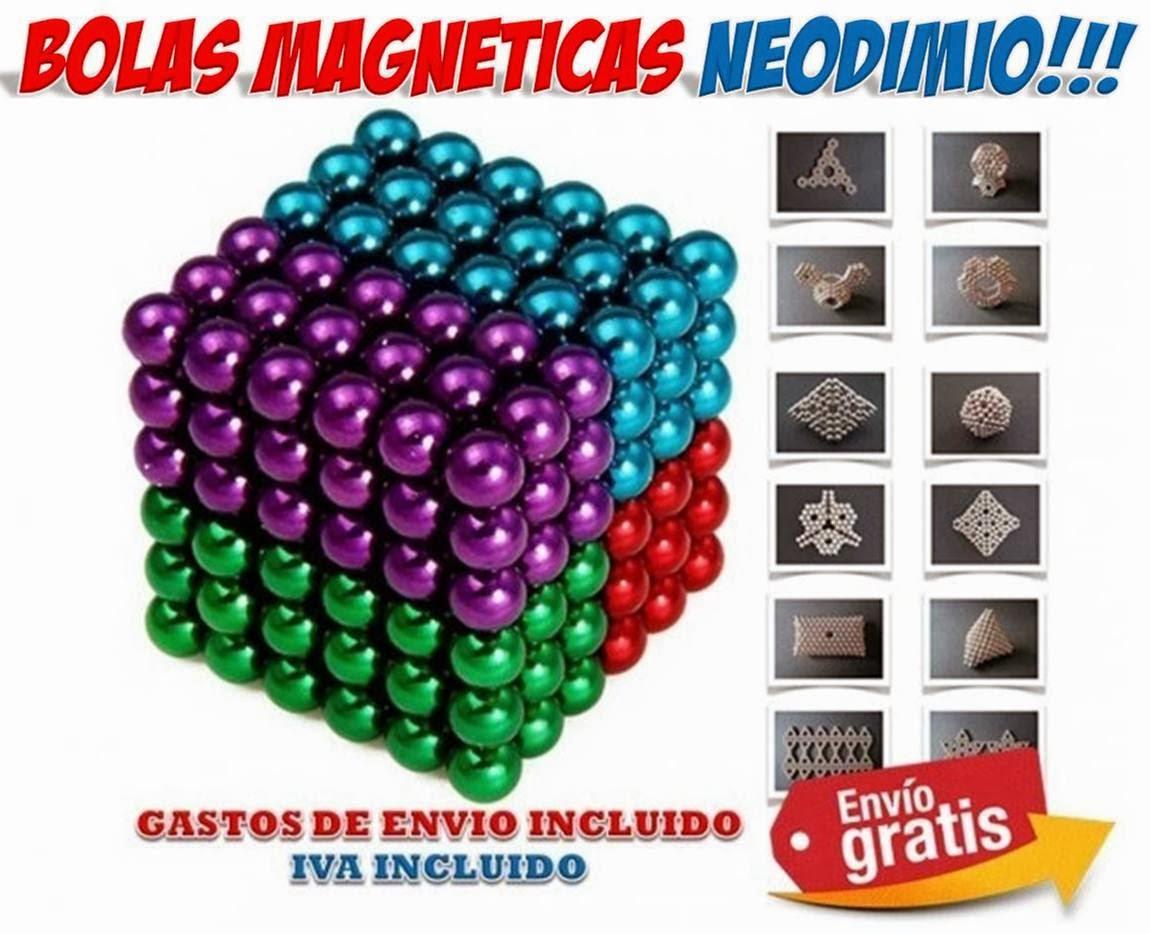 bolas magneticas