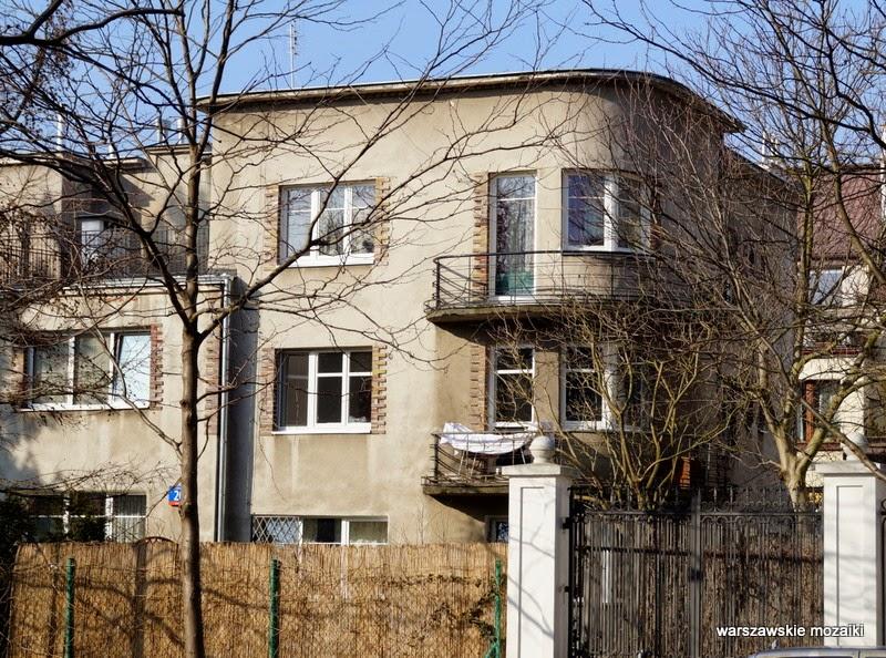 Warszawa Mokotów willa przedwojenna ulica Wierzbno