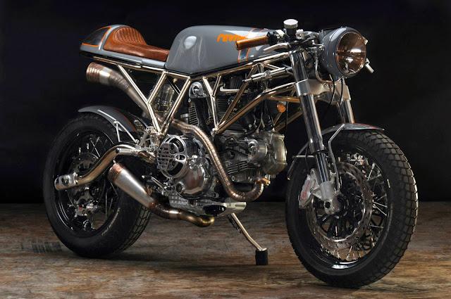 Racing Caf U00e8  Ducati  U0026quot Pyro U0026quot  By Revival Cycles