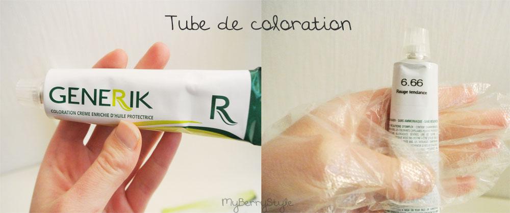 il y a un tube de coloration avec une paire de gant pratique pour se protger les mains surtout que sur la notice il est crit de ne jamais les enlever - Coloration Generik