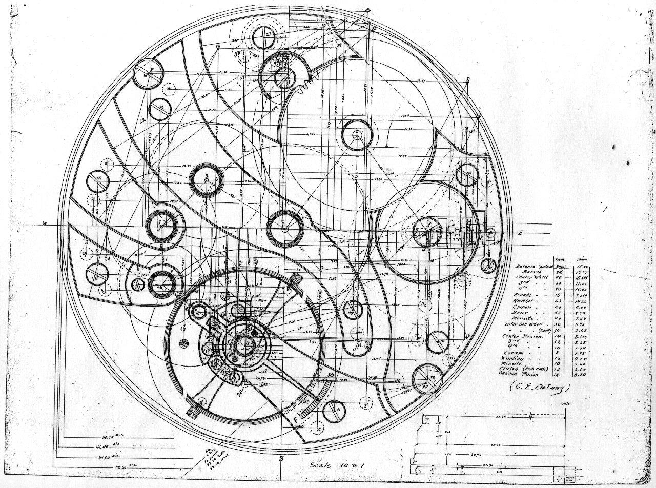 Calendar Design Drawing : Visible like clockwork