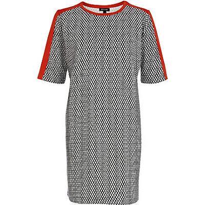geo tshirt dress