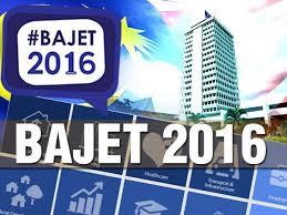 Bajet 2016 Malaysia