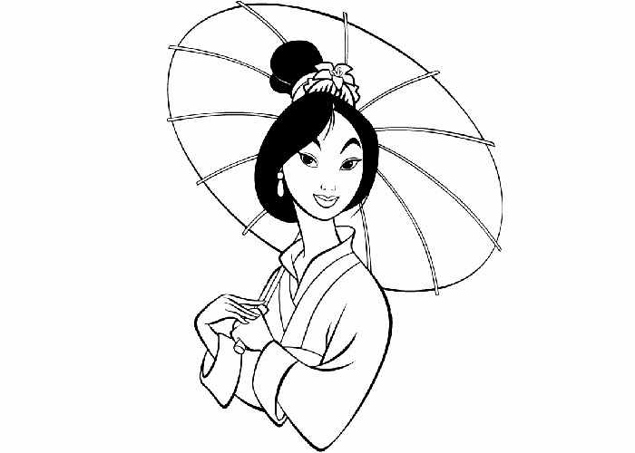 Mulan Coloring Pages Free Coloring Pages And Coloring Mulan Coloring Page