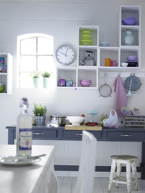 Decora Interi : Decora??o com nichos: cozinhas e lavanderias