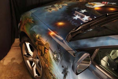 Awesome Patriotic Airbrushed Camaro Seen On www.coolpicturegallery.us