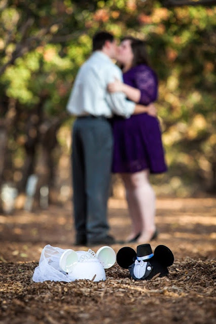 Beth and Stephen's Disney Engagement Photos - C Sexton Photography