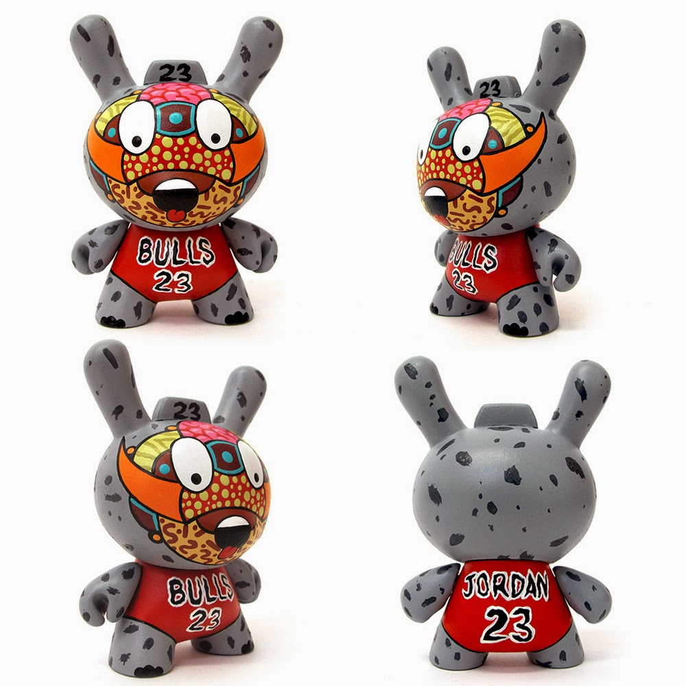 """Codename Bulls"" Custom Dunny Blind Box Series by Sekure D - Michael Jordan #23 Dunny"