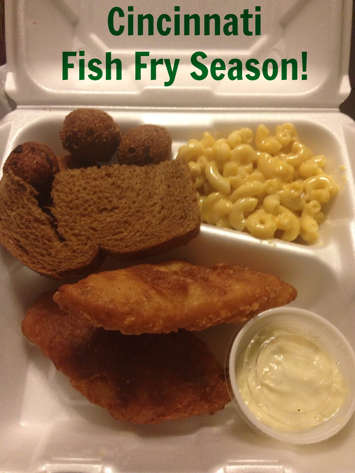 Cincinnati phenomenon fish fry season the food hussy for How to season fish for frying