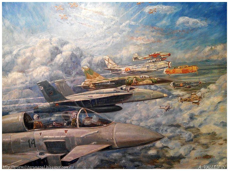 Primer Premio de pintura Oleo del 75 Aniversario de la fundación del Ejercito del Aire Español