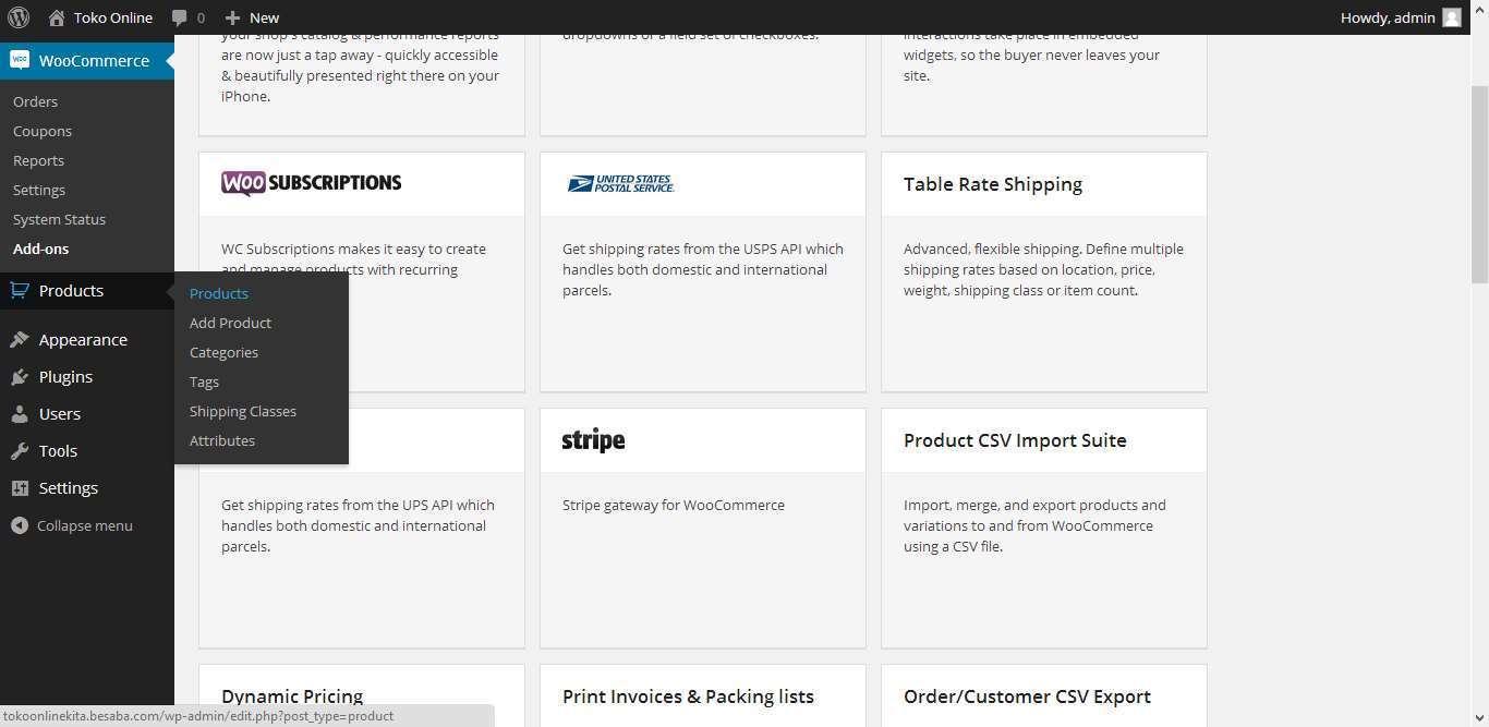 Cara Menambahkan Produk di Website Toko Online 1