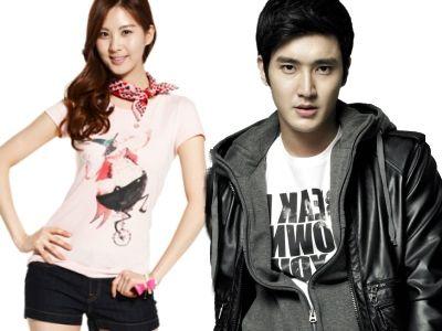 Siwon e Seohyun