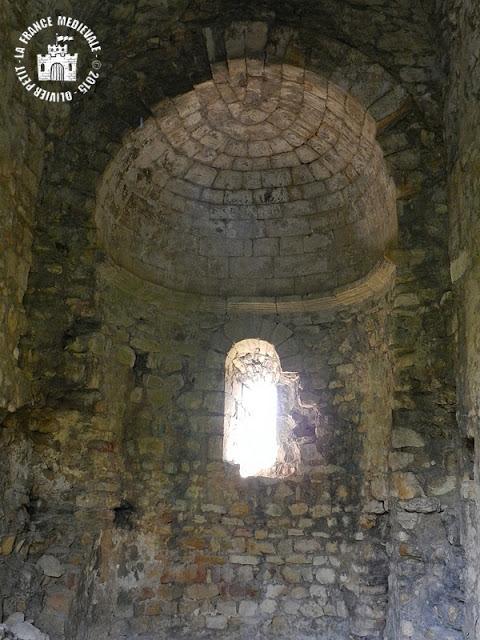 SAINT ETIENNE DES SORTS (30) - Donjon et chapelle romane