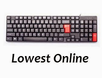 Amazon : Buy Enter E-KB501 Wired keyboard At Rs. 198 only