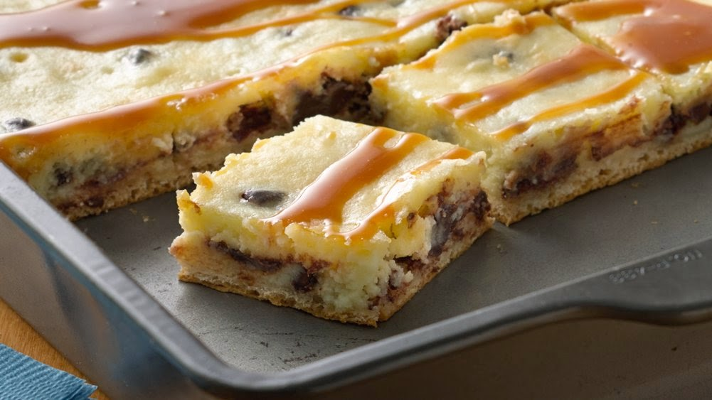 Gina's Italian Kitchen: Chocolate Cheesecake Bars