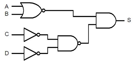 Portes logiques et alg bre de boole exercices corrig s tp for Circuit logique