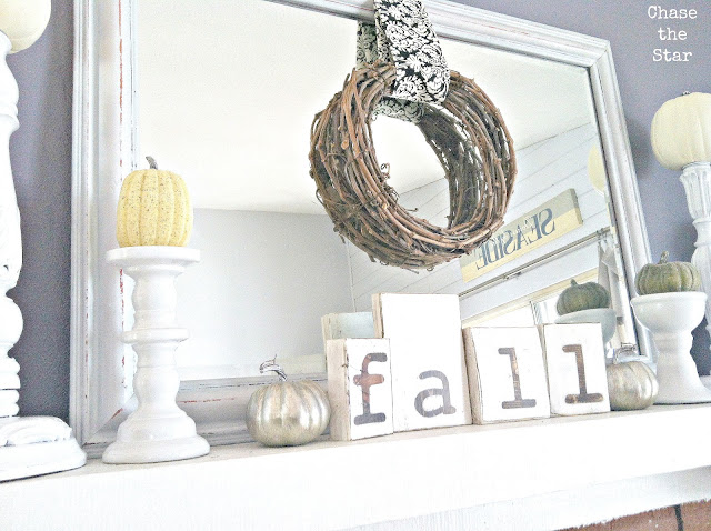 http://www.hellolifeonline.com, fall, mantel, autumn, diy, crafts