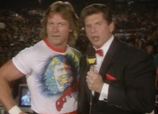WWF / WWE - SUMMERSLAM 1990: Vince McMahon and Rowdy Roddy Piper hosted the event