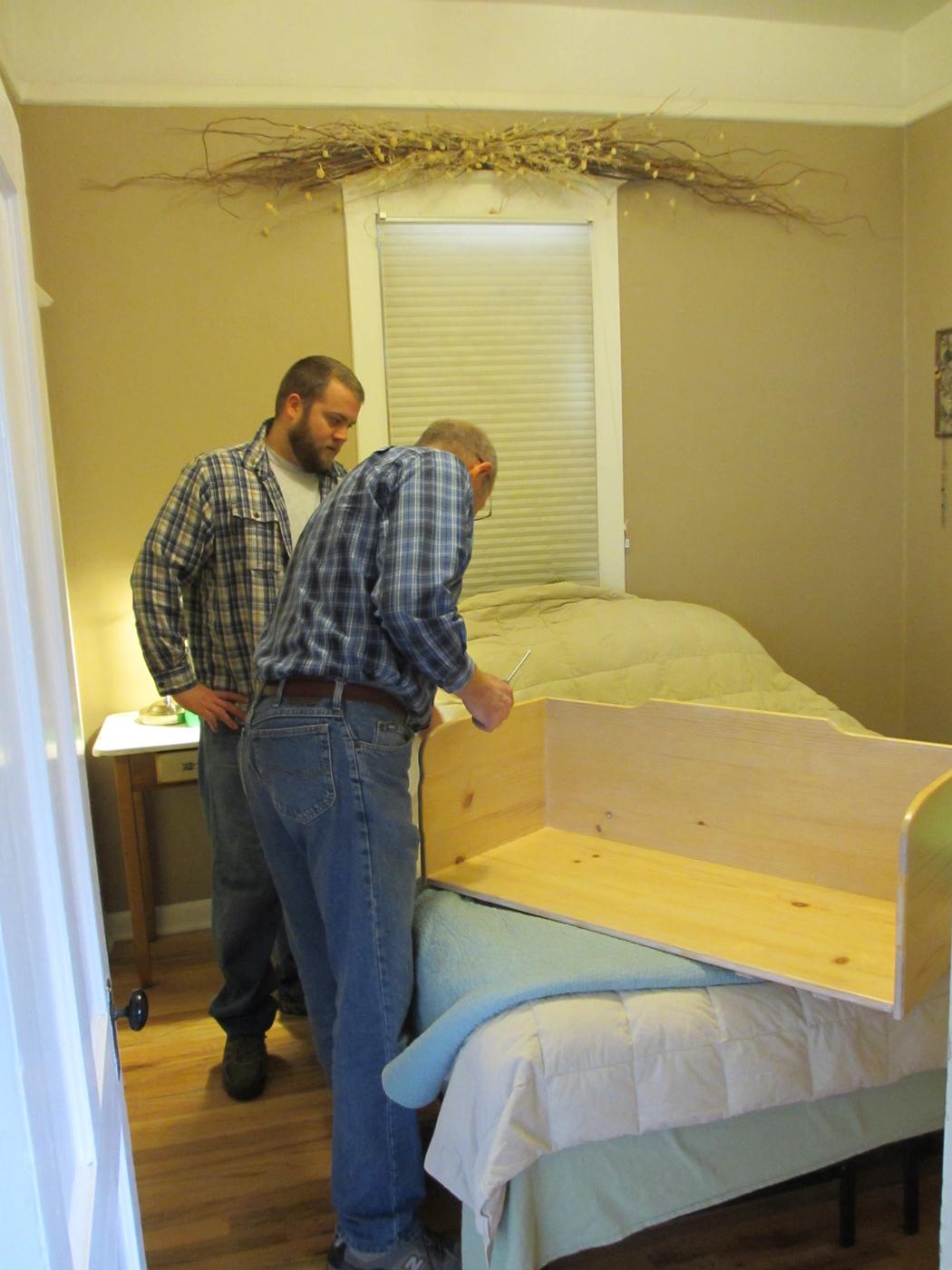 Our Homegrown Spud Spud Box A Diy Co Sleeper