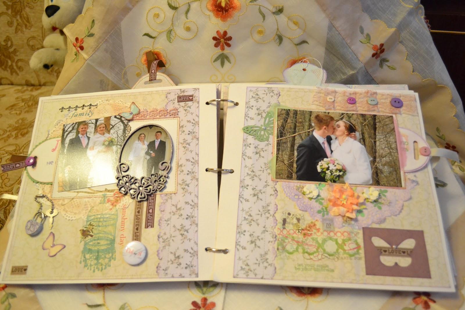 Оформление свадебный альбом своими руками фото