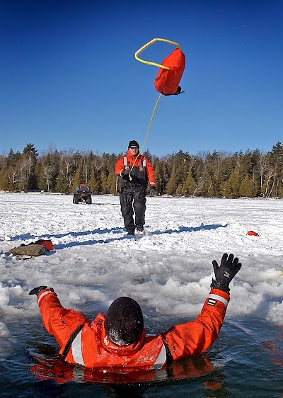 Remember safety when venturing on the ice