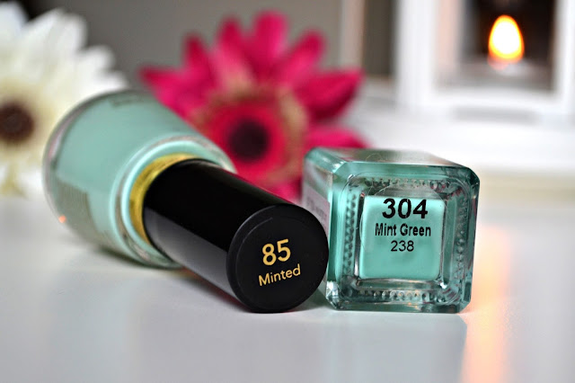Photo of Revlon Minted Barry M Mint Green Mint Nail Polish