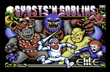 Ghosts'n Goblins Arcade, ya disponible para C64