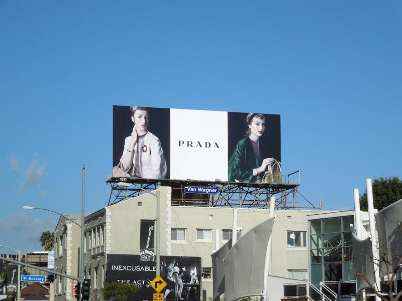 Prada Spring 2013 fashion billboard