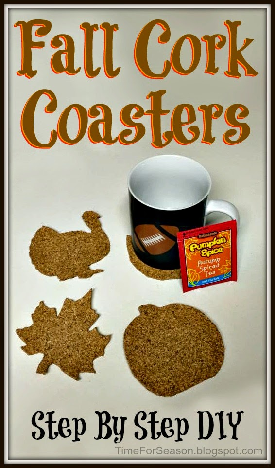 http://timeforseason.blogspot.com/2014/09/fall-cork-coasters-diy-thanksgiving-gift.html