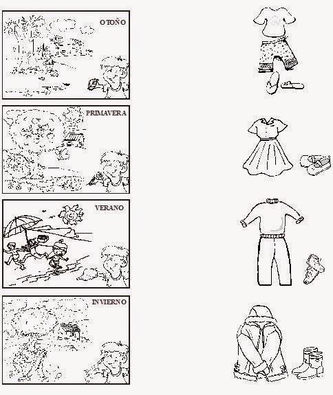 RECURSOS PARA TRABAJAR INFANTIL: La ropa, vestimenta según las ...