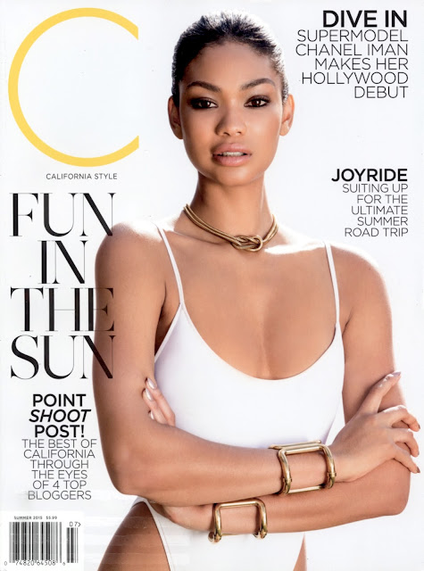 Actress, Model @ Chanel Iman - C California Style Summer 2015