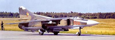 МиГ-23М ввс ГДР.