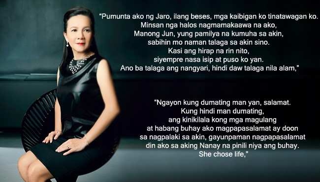 Into the Life of Senator Grace Poe