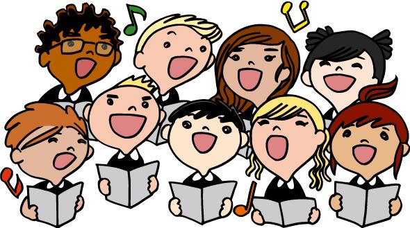 Coro infantil - Vector