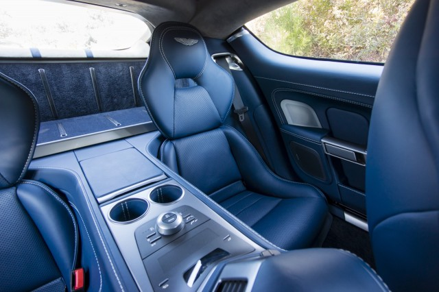 2014 Aston Martin Rapide S Sedan Interior