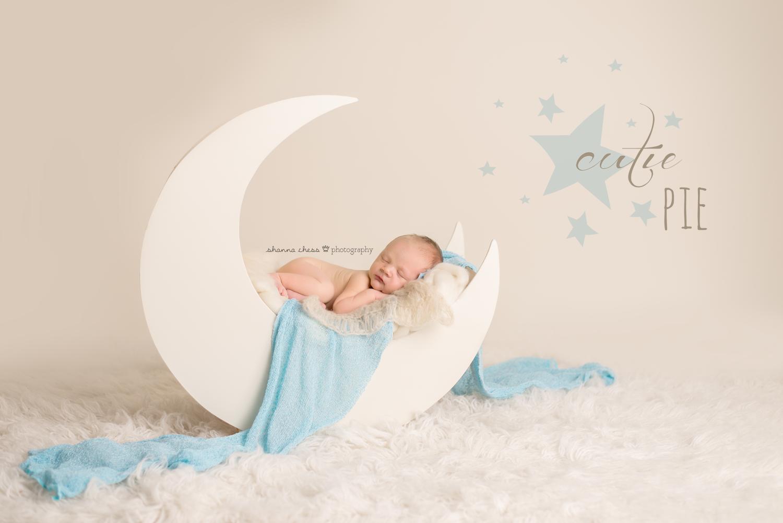 eugene springfield oregon newborn photography moon